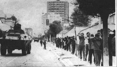 הדיכוי שביצע הצבא בלה-פז