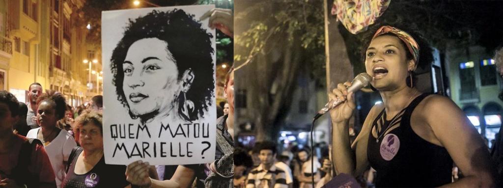 """מריאל פרנקו 1979-2018. על השלט נכתב: """"מי הרג את מריאל?"""""""
