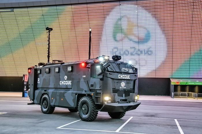 """רכב """"Guarder"""" של חברת פלסן באולימפיאדת ריו 2016"""
